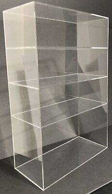 Acrylic Cabinet Counter Top Display Showcase Box 12x6x19 Display Box Acrylic
