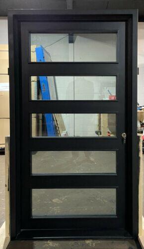 """Wrought Iron single door 42"""" X 81"""" , Modern Wrought Iron Door"""