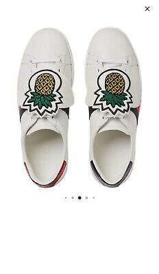 Genuine GUCCI Ace Trainers UK 6 (RRP £715) Sneakers with Removable Patches