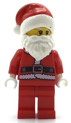 LEGO SANTA CLAUS MINIFIGURE COLLECTIBLE CMF FIGURE HOLLIDAY CHRISTMAS FIG