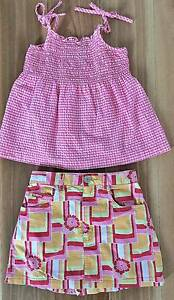 Size 4 Girls Summer Clothes Bundle Curl Curl Manly Area Preview