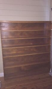 Wooden bookshelf Kingswood Penrith Area Preview