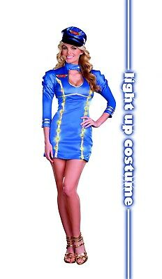 Sexy Airline Stewardess / Flight Attendant Come Fly With Me Costume Cosplay 822