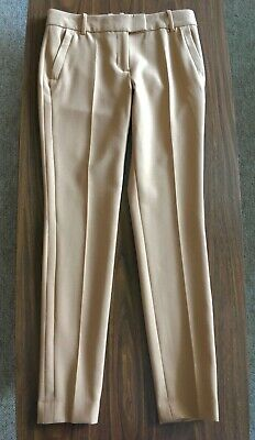 J Crew Skinny Trouser Pants Camel Color Size 2
