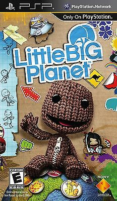 Little Big Planet Game for Sony PSP PlayStation Portable -