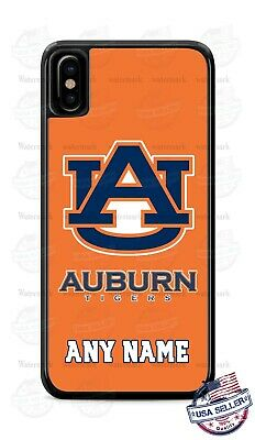 Auburn Tigers College Football Logo Tread Phone Case Cover For iPhone Samsung  Auburn Tigers Cell Phone Case