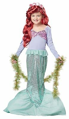 Lil' Mermaid Costume for Toddlers by California Costume size 3-4 & 4-6