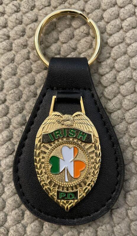"""Irish PD Police Key Fob 3 1/2"""""""