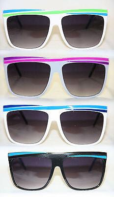 Retro Party Sonnenbrille neon grün blau pink weiß  461
