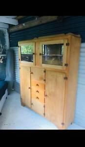 Art deco retro kitchen dresser