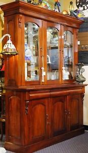 Victorian style 3 door sideboard with hutch Cooranbong Lake Macquarie Area Preview