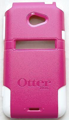 NEW Otterbox HTC EVO 4G LTE Pink/White Commuter Series Case Smart Cell Phone (Otter Box Htc Lte)