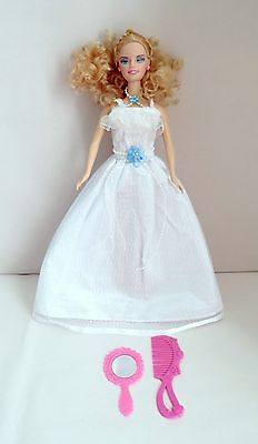 "Flora Doll 11.5"" Fashion Doll Blonde With Blue Eyes"