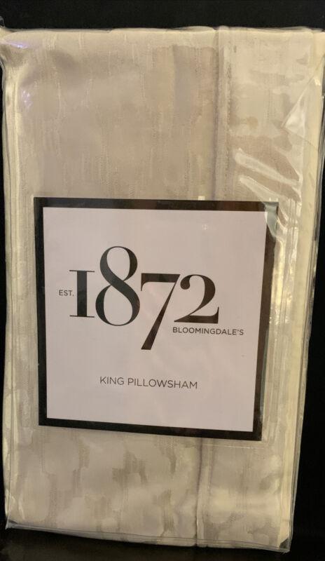 Bloomingdales 1872 Panthera  King Pillow Sham Beige. J