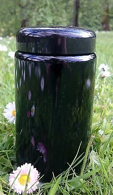 Miron Violet Glass wide neck jar 400 ml /13.53 OZ with lid