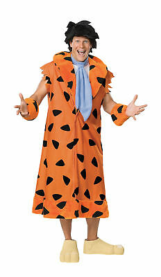 Fred Feuerstein Kostüm Erwachsene Teen Plus The Flintstones Cartoon-Tv - Fred Flintstones Kostüm