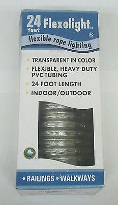 GOOD EARTH LIGHTING Clear 24' Incandescent Flexolight Rope Light