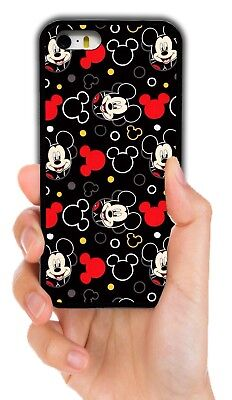 DISNEY MICKEY MOUSE RUBBER PHONE CASE FOR IPHONE XS MAX XR 4 5 5C 6S 7 8 PLUS