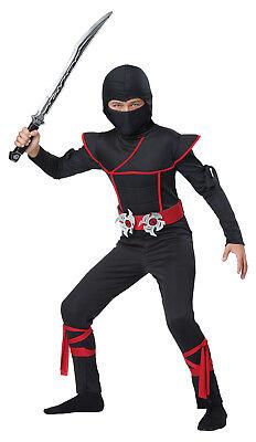 Ninjago Japanese Military Warrior Stealth Ninja Child Costume