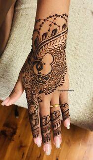 Henna service (mehndi) (professional henna artist)