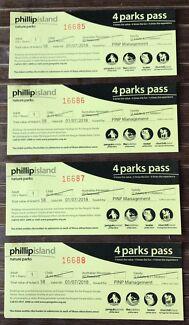 x4 Phillip Island Nature Parks Pass