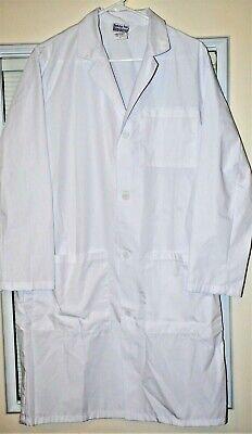 Consultation White Lab Coat Fashion Seal Heath care Ladies Size Small White Consultation Coat