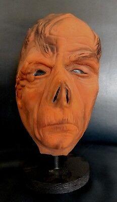 Vintage Don Post 70s 150 Line Rubber Phantom of the Opera Monster Halloween Mask](70's Halloween Masks)