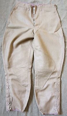 WWI US ARMY INFANTRY OFFICER M1917 WOOL COMBAT FIELD BREECHES TROUSERS-4XLARGE