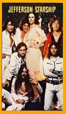 JEFFERSON STARSHIP 1979 Calendar Card; Grunt Records Official Promo Card