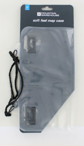 New Mountain Warehouse Soft Feel Map Case Cover with Neck Strap  Walking Hiking