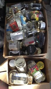 Free glass jars and bottles