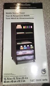 Recollections mobile storage tower cart BNIB