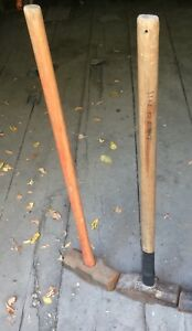 Post or concrete sledge hammers.      OD