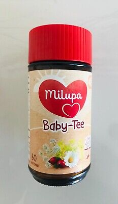 MILUPA Organic Baby Tea - From the 4th month - 56 servings/23g-FREE US - Tea Baby