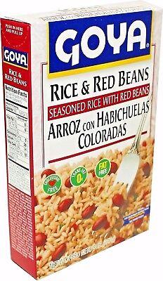 Goya Rice (Goya Rice & Red Beans Arroz con Habichuelas Coloradas 7 Oz - Free)