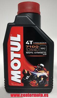 Motul 7100 10W40 4T 1L Aceite de Motor Sintético