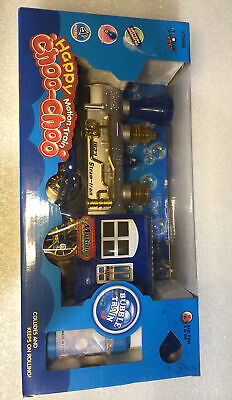 Christmas Train Set - Happy Motion Toy Train - Bubble Blower - Brand New