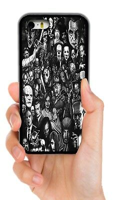 HALLOWEEN HORROR SCARY MOVIE CHARACTERS CASE FOR IPHONE 4S 5S 5C 6S 6 7 8 PLUS X