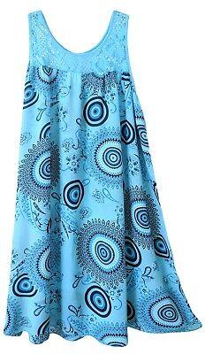 luftige Sommerkleider Damen - Sommermode - Strandkleid für den Urlaub - Gr