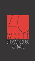 40 Westt is looking for wait staff, host staff and bar staff