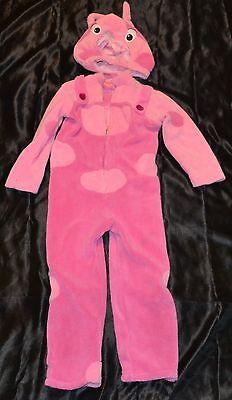 Backyardigans Uniqua Halloween Costume Fits Kids Size 4-5 T Toddlers Girls Child](5t Girl Halloween Costume)