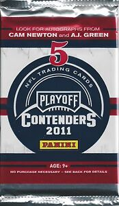 2011 Playoff Contenders Football Hobby Box *Pack* Colin Kaepernick Rc Auto 1/1 ?