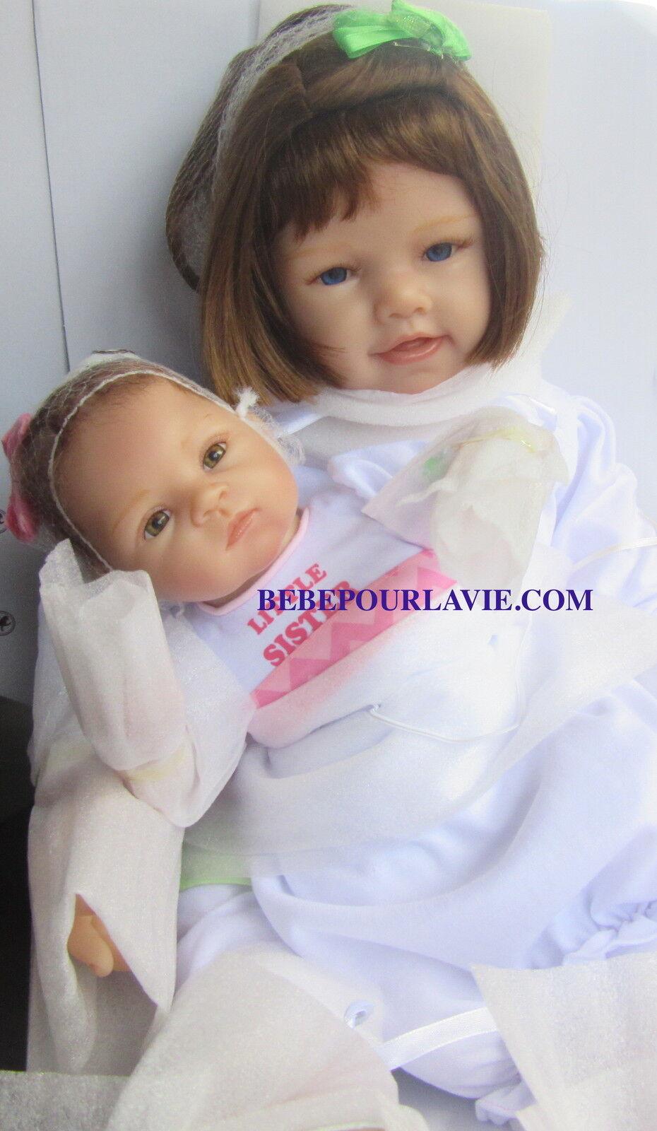 Ashton drake a sister 39 s love poseable baby doll set by for The ashton