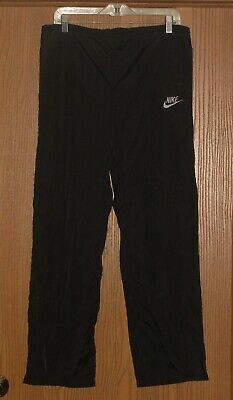 MENS RARE VINTAGE NIKE 100% LIGHTWEIGHT NYLON BLUE LABEL TRACK PANTS S !! WOW