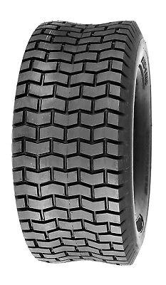 (One) Deli Tire 15 x 6.00 - 6, Turf Tire, 4 PR, Tubeless, Lawn Mower Tire - NEW