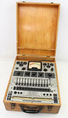 Rare Vintage Precision Tube Master Series 10-12 Tube Tester