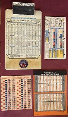 20 Piece Vintage Engineering Publication & Clip Board Bundle
