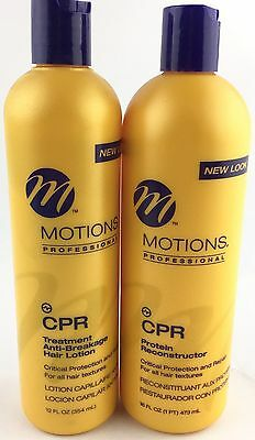 Pick1 Motions CPR Protein Reconstrucor 16oz CPR Anti Breakage Hair Lotion 12oz ()