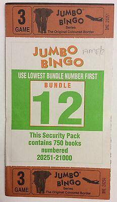 750 3 game 6 view  Bingo books