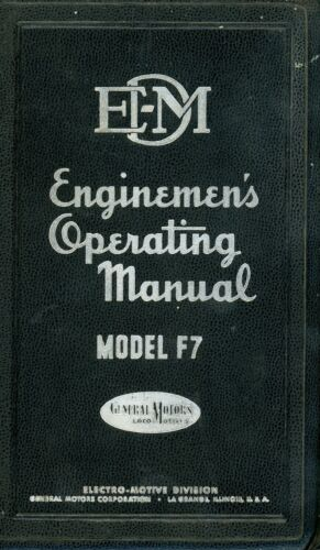 RR F7 Operating Manual